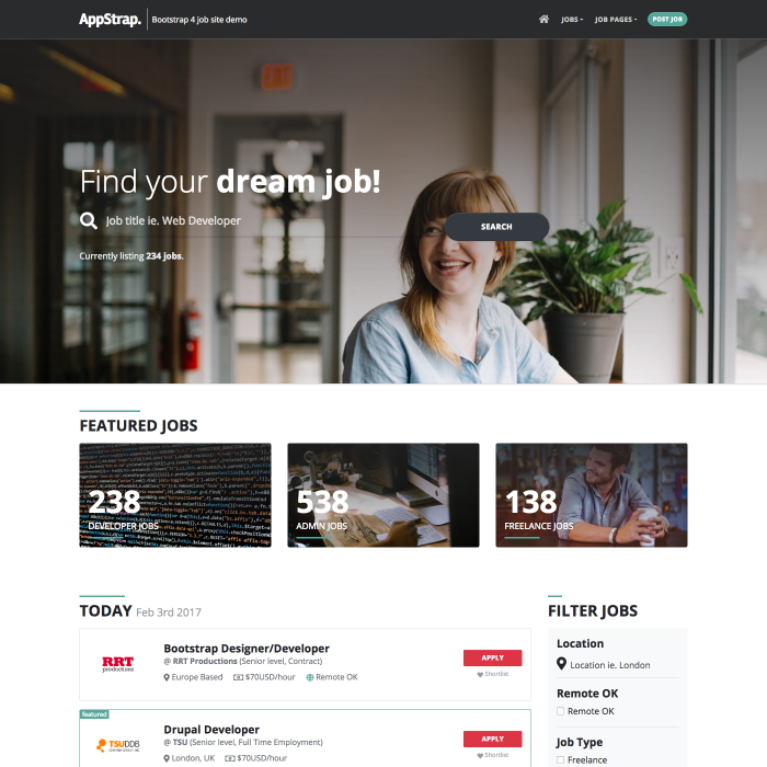 Welcome To AppStrap   AppStrap Bootstrap Theme by Themelize me